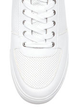 Perforated trainers - White - Men | H&M 3